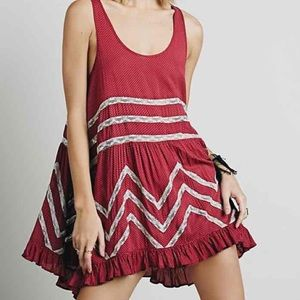 Free people size extra small trapeze slip